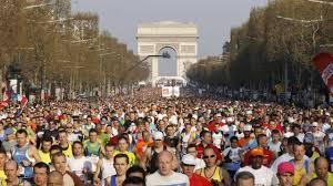 Résultat de recherche d'images pour 'km marathon paris'