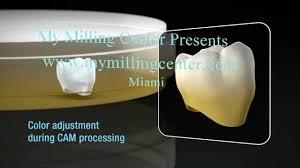 Katana <b>Dental Zirconia</b> from the My Milling center Multi Layered ...