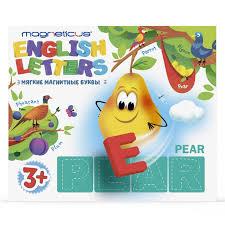 <b>Обучающий набор</b> «Мягкие магнитные <b>буквы</b>. Английский язык ...