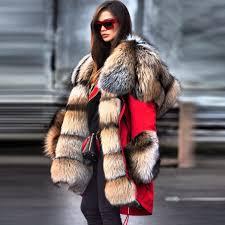 Autumn And <b>Winter Fur</b> Collar <b>High Imitation Fur</b> Overcoat – sweetde