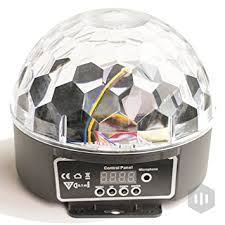 led disco ball by nulights rgb led party lights 100 risk free best mood lighting
