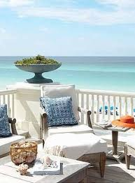 beautiful beach peace spotwhite and navy with wicker and shells beautiful beach homes ideas