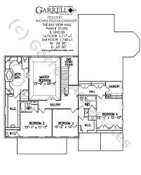 Bay View Hall House Plan   House Plans by Garrell Associates  Inc     bay view hall house plan   nd floor plan