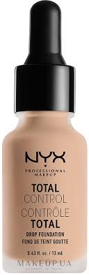 <b>NYX Professional Makeup</b> Total Control Drop Foundation - Стойкая ...