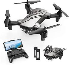 DEERC D20 <b>Mini Drone Foldable</b> for Kids with 720P HD <b>FPV</b> ...