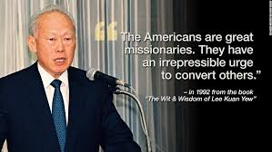 Lee Kuan Yew Picturwe With His Quotes. QuotesGram