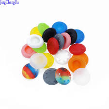 <b>2pcs Analog</b> Silicone Controller Thumb Stick Grips Cap For Sony ...