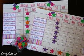 star behavior charts re born the sunny side up blog star behavior charts re born