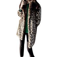 GIFC <b>Fashion</b> Women Warm <b>Vintage</b> Animal <b>Leopard Print</b> Faux Fur ...