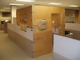 you cant put a price on privacy in the office cardboard office