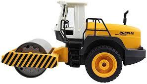 YXWJ RC Truck Road Roller <b>2.4G Remote</b> Control Single Drum ...