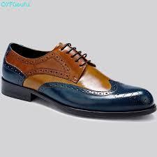 <b>QYFCIOUFU</b> Italian <b>Luxury Men</b> Formal Brogue Shoes Genuine ...