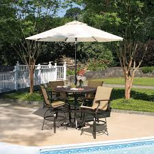 garden furniture patio uamp: bar  counter height patio set is also a kind of bar height patio sets patio design ideas