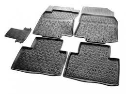 Nissan X-Trail (14–) <b>Коврики салона</b> (<b>литьевые</b>), <b>чёрные</b> купить в ...