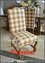 Dining Room Chair Reupholstery How To Reupholster A Dining Chair Lilacs And Longhornslilacs And