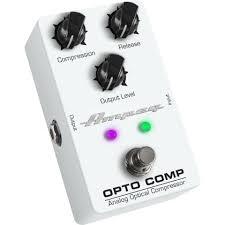 <b>Педаль</b> компрессор для бас-гитары <b>Ampeg Opto</b> Comp Bass ...