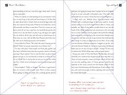 book design basics part 1 margins and leading waves page layout using tchichold s canon