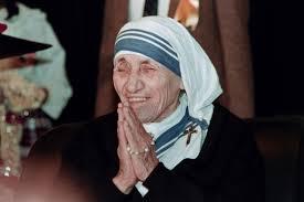 The fanatic, fraudulent Mother Teresa.