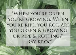 Image result for green grow ripe rot