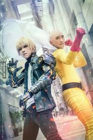 One-Punch Man Cosplay. Are those kitchen gloves? | Gloves ... via Relatably.com