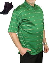 Polo Shirts for <b>Men</b> - <b>Loose Fit</b> Short-Sleeve <b>Mens Casual</b> Tech Dry ...
