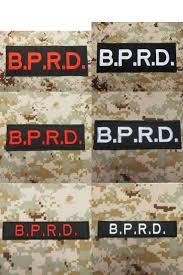 Хеллбой b.p.r.d. Большая задняя часть на <b>груди</b> ленты вышивка ...