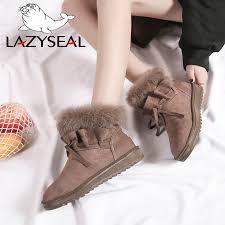 Online Shop <b>LazySeal</b> 2019 <b>Shoes Women</b> Suede Real Rabbit Fur ...