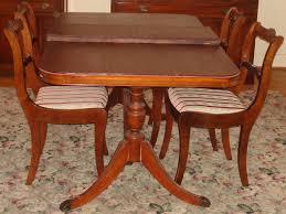 Antique Dining Room Tables Random Photo Gallery Of Dining Room Tables With Leaves Dining Room