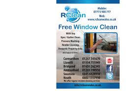 2013 rcleanwales window cleaners window cleaning flyers