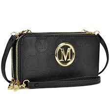 Women Small Crossbody Bag Cellphone <b>Purse</b> Long Zipper Around ...