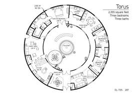 images about My own lil Hobbit hole on Pinterest    AWESOME Dome Home floorplan Monolithic Marketplace   Construction Drawings DL  quot Torus quot    Would be so cool to live in a maze home  Floor Plan