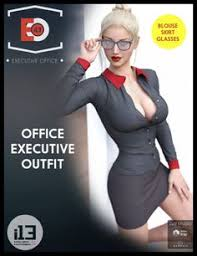 I13 Sexy Office Executive Outfit  U