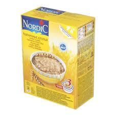 <b>Хлопья Nordic</b> (Нордик) <b>пшеничные</b>, 600 гр. — купить в интернет ...