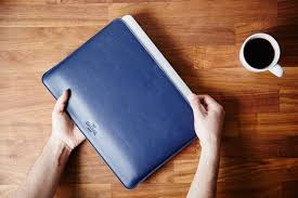 Slim Macbook Pro 13 inch <b>Leather Sleeve Case</b> | Harber London ...