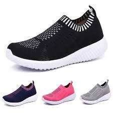 <b>TIOSEBON Women's</b> Athletic Shoes Casual Mesh <b>Walking Sneakers</b>