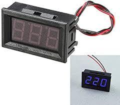 YT Module <b>3Pcs 0.56 Inch</b> Blue AC70-500V Yoton Digital Voltmeter ...