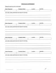 fill out a resumes template fill out a resumes