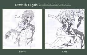 Draw this again! Meme (Kodomo no Omocha) by ReraKuroshin on DeviantArt via Relatably.com