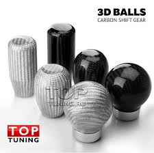 <b>Ручка</b> КПП Карбон 3D Balls