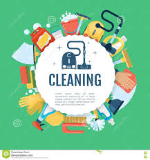 house cleaning poster vector home services template house cleaning poster vector home services template household supplies icons