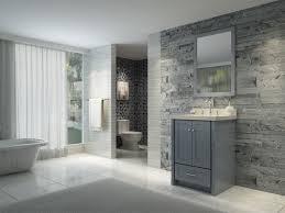 bathroom features gray shaker vanity:  stylish ace adams  inch single sink bathroom vanity set in grey finish with grey bathroom