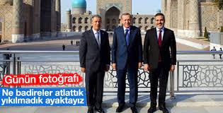 Erdoğan, Akar ve Fidan aynı karede