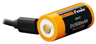 <b>аккумулятор</b> с USB портом <b>Fenix</b> Li-ion <b>16340</b> USB <b>700mAh</b> по ...