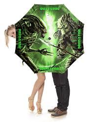"""Зонт-трость с деревянной ручкой """"Alien vs <b>Predator</b>"""" #2226632 <b>от</b> ..."""