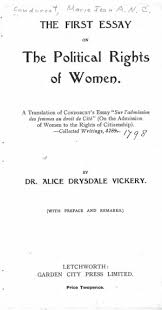 on the admission of women to the rights of citizenship   online   tp