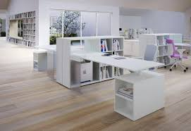 built in office furniture uk with white modern table design idea and simple bookcase sets plus built office furniture