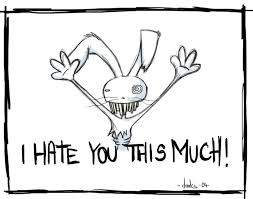 I hate you this much quote | Picture Quotes & Sayings