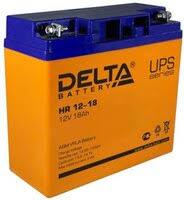Аккумулятор <b>delta hr 12-18</b> (12v 18ah)» — Аккумуляторные <b>батареи</b>