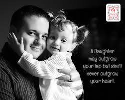 Image result for girl on fathers lap