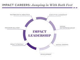 career paths social impact kellogg school impact careers impact leadership